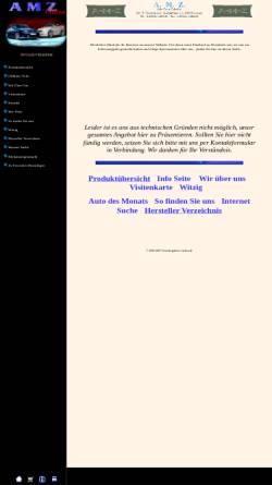 Vorschau der mobilen Webseite www.gewerbegebiete-aachen.de, A.M.Z. Online