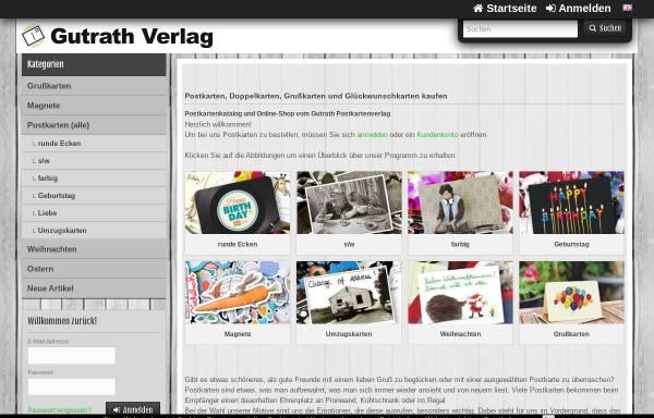 Vorschau von www.gutrath.com, Gutrath Verlag GmbH