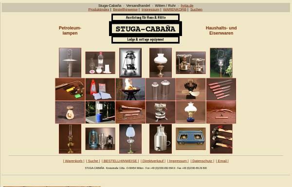 Vorschau von hytta.de, Haushalts- und Eisenwaren Stuga-Cabana
