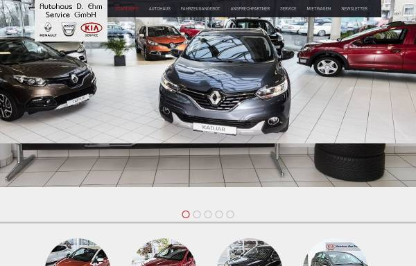 Vorschau von www.autohaus.cc, Autohaus D. Ehm GmbH