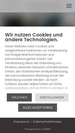 Vorschau der mobilen Webseite www.autohaus.cc, Autohaus D. Ehm GmbH