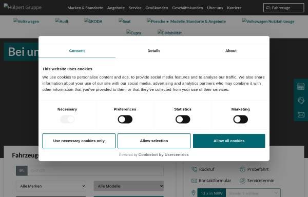 Vorschau von www.huelpert.de, Autohaus Hülpert