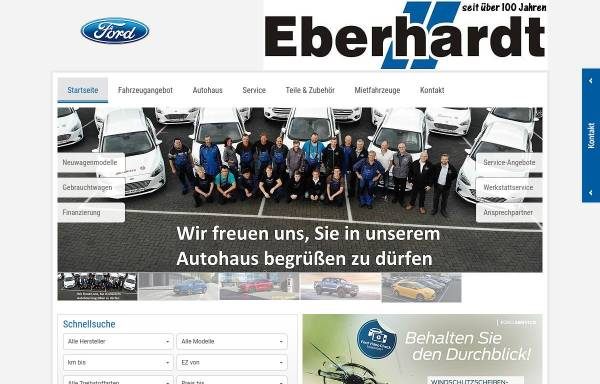 Vorschau von www.ford-eberhardt.de, Eberhardt Automobile GmbH & Co KG