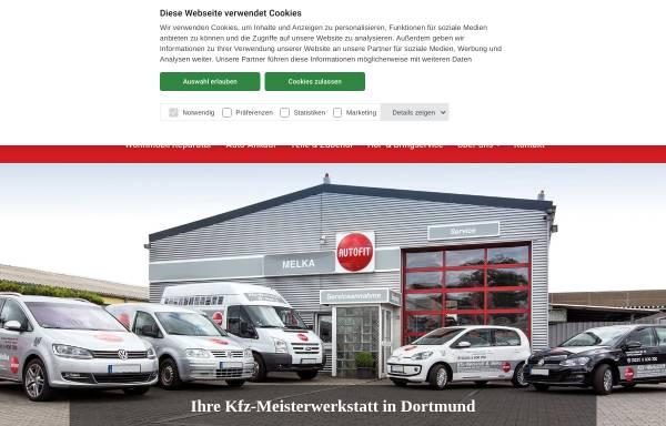 Vorschau von www.auto-melka.de, Kfz - Werkstatt B. Melka