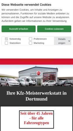 Vorschau der mobilen Webseite www.auto-melka.de, Kfz - Werkstatt B. Melka