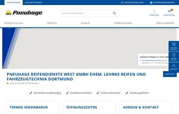 Vorschau von www.reifen-lehrke.de, Reifen Lehrke