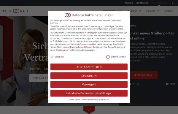 Vorschau von www.leue.de, Leue und Nill GmbH & Co KG