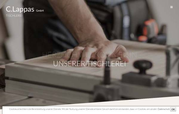 Vorschau von www.lappas-gmbh.de, C. Lappas GmbH