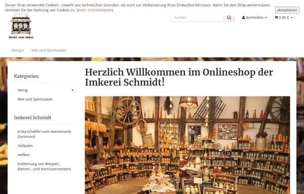 Vorschau von www.imkerei-schmidt.de, Imkerei Ralf D. Schmidt
