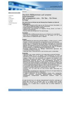Vorschau der mobilen Webseite www.bonnplan.de, Architekturbüro Konrad Schmidt