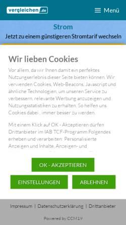 Vorschau der mobilen Webseite www.einfachefinanzen.de, Bo-Mobile GmbH
