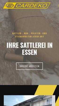 Vorschau der mobilen Webseite www.cardeko.de, CarDeko, Sreten Paunovic