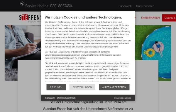 Vorschau von www.steffensmeier.de, Heinrich Steffensmeier GmbH & Co. KG
