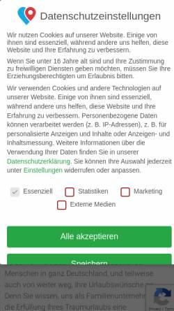 Vorschau der mobilen Webseite www.kozica.de, Kozica Reisen GmbH