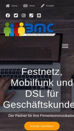 Vorschau der mobilen Webseite bmcessen.de, BMC Essen GmbH
