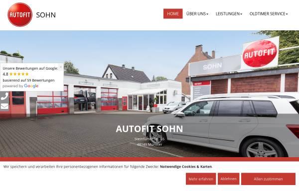 Vorschau von www.sohn-autofit.de, Autofit Otto Sohn jun. GmbH