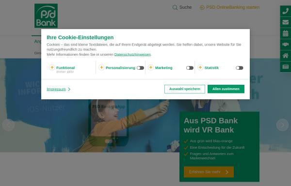 Vorschau von www.psd-westfalen-lippe.de, PSD Bank Westfalen-Lippe eG