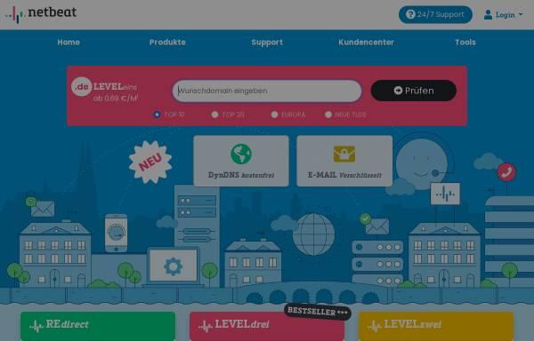 Vorschau von www.netbeat.de, NetBeat GmbH