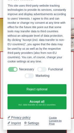 Vorschau der mobilen Webseite www.brillen-bell.de, Brillen Bell, Inhaberin Karin Bell