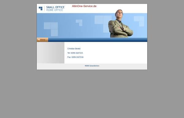 Vorschau von www.allinone-service.de, All in One - Meinberg/Benke GbR