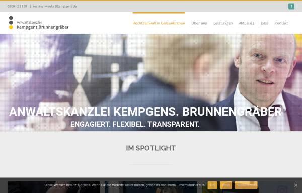 Vorschau von www.kempgens.de, Kempgens, Brunnengräber und Partner, Rechtsanwälte und Notare