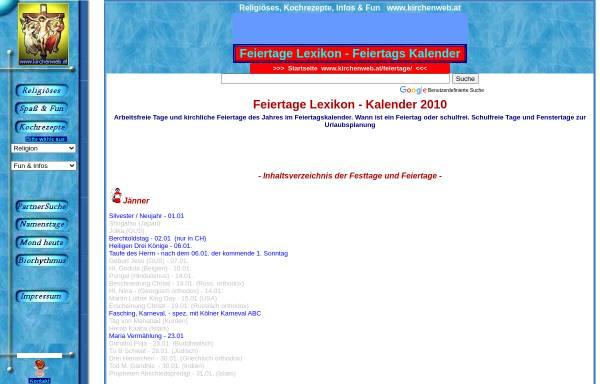 Vorschau von www.kirchenweb.at, Kirchenweb.at