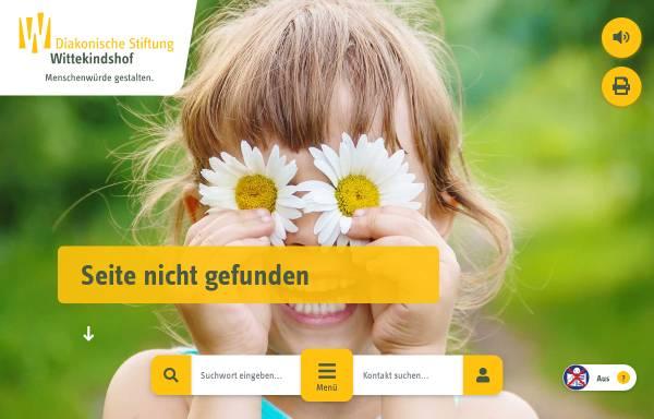 Vorschau von www.wittekindshof.de, Berufsbildungswerk Wittekindshof