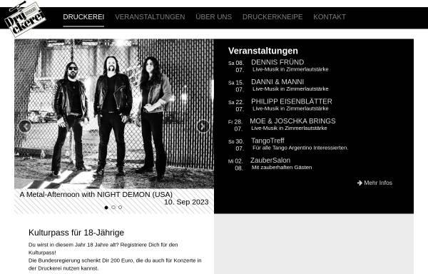 Vorschau von www.dbbo.de, Druckerei Begegnungszentrum e.V