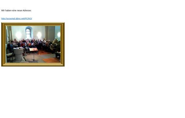 Vorschau von www.posaunenchor-rehme.de, Posaunenchor CVJM Rehme