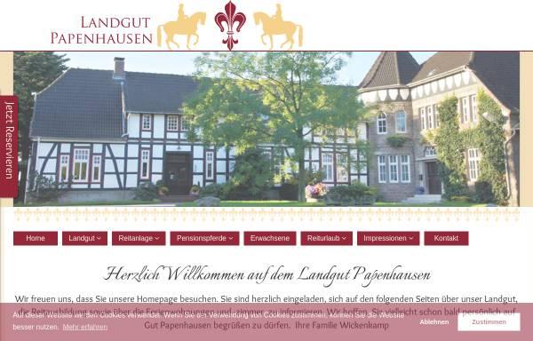 Vorschau von www.reiterhof.de, Reiterhof Salzetal, Inhaber Tanja und Andreas Wickenkamp