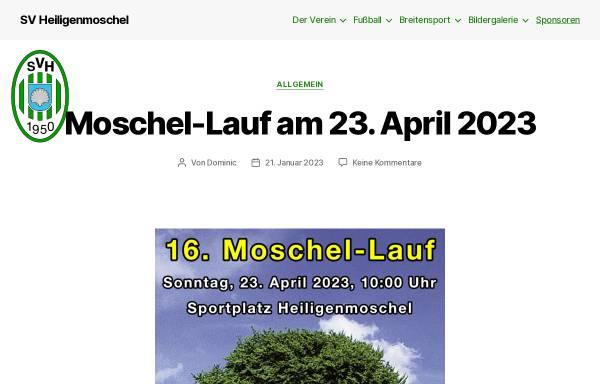 Vorschau von www.svheiligenmoschel.de, Sportverein Heiligenmoschel