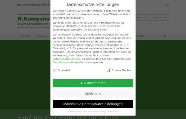 Vorschau von www.schuhtechnik.de, Kampshoff