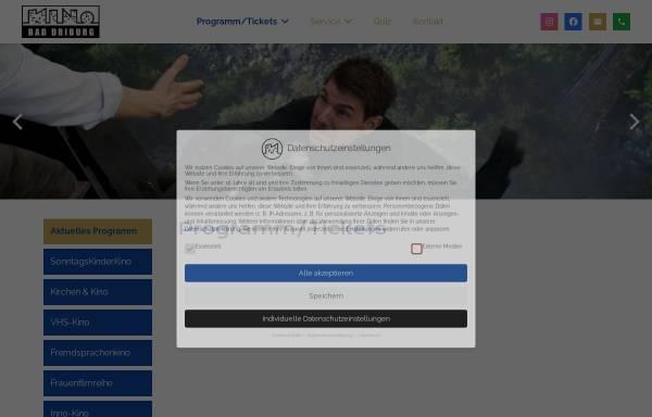 Vorschau von www.kinodriburg.de, Kino Brakel