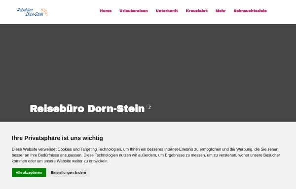 Vorschau von www.reiseserviceonline.de, Reisebüro Dorn-Stein
