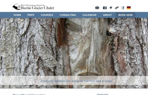 Vorschau von www.bearmountaineering.ca, Bear Mountaineering