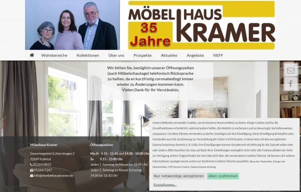 Möbelhaus Kramer Wirtschaftsdienste Wirtschaft Moebelhauskramerde