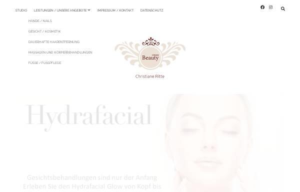 Vorschau von www.beautynailskempen.de, Nageldesign Christiane Ritte