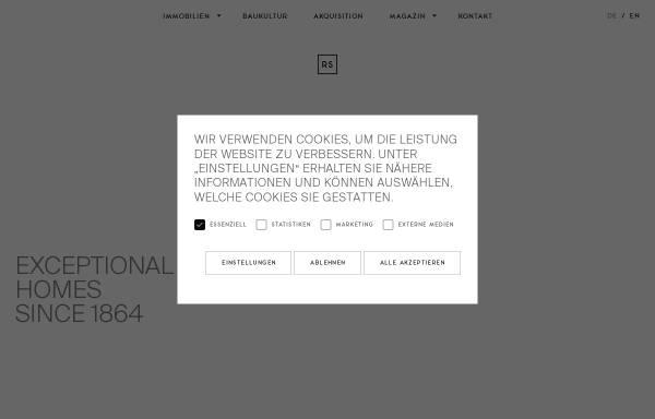 Vorschau von www.ralf-schmitz.de, Ralf Schmitz GmbH & Co. KG - Wohnungsbaugesellschaft