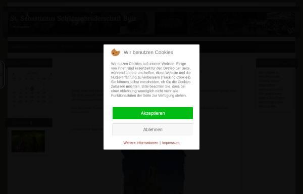 Vorschau von www.schuetzen-buir.de, Sankt-Sebastianus-Schützenbruderschaft Buir e.V.