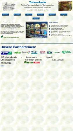 Vorschau der mobilen Webseite www.gartentreff-kerpen.de, Gartentreff Kerpen