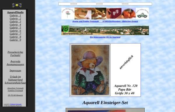 Vorschau von www.freismuth.de, Aquarellstudio Freismuth