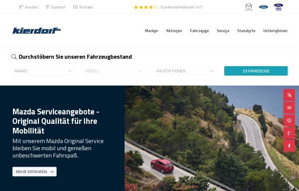 Vorschau von www.ford-kierdorf.de, Autohaus Kierdorf Vertriebs GmbH