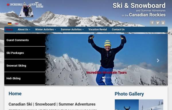 Vorschau von www.imtours.ca, Incredible Mountain Tours