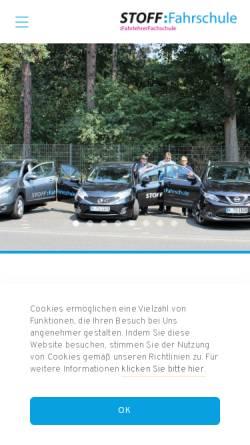 Vorschau der mobilen Webseite fahrschule-koeln-poll.de, Fahrschule Köln Poll, Inhaberin Tanja Stoff