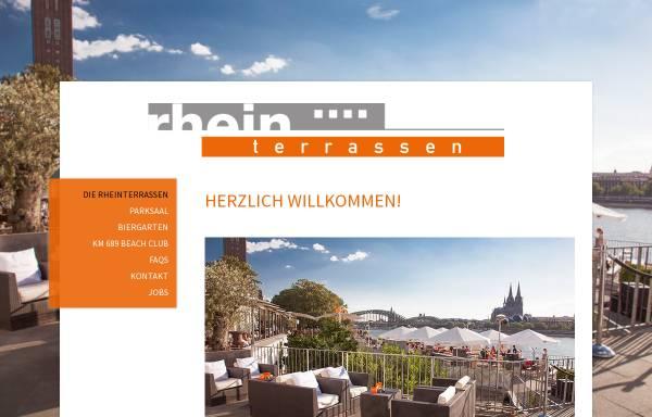Vorschau von www.rhein-terrassen.de, Rheinterrassen