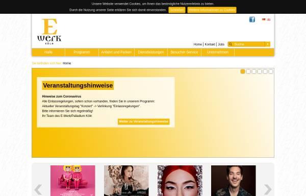 Vorschau von www.e-werk-koeln.de, E-Werk