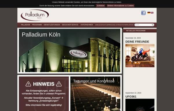 Vorschau von www.palladium-koeln.de, Palladium