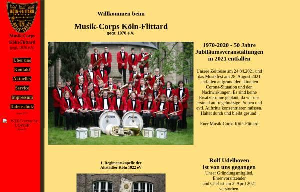 Vorschau von www.musikcorps-flittard.de, Musik-Corps Köln-Flittard