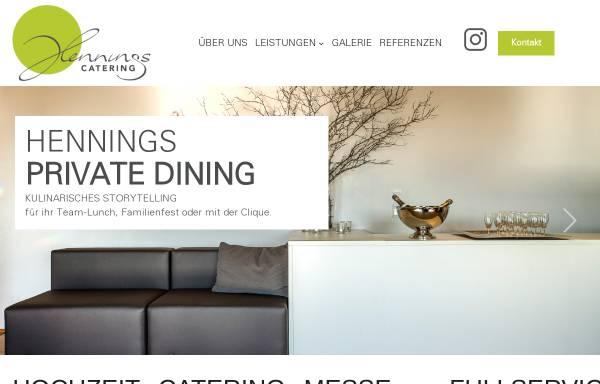 Vorschau von www.hennings-catering.de, Henning´s Catering
