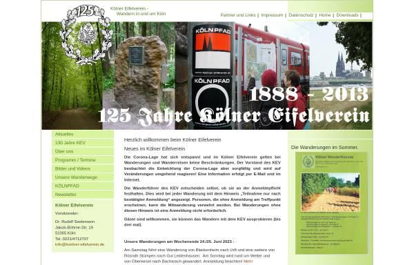 Vorschau von koelner-eifelverein.de, Kölner Eifelverein e.V.